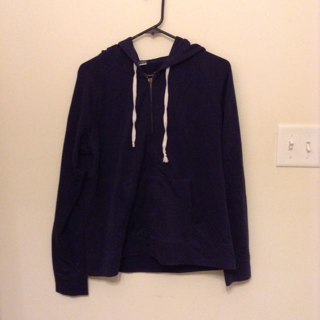 J Crew Navy Blue Sweater L