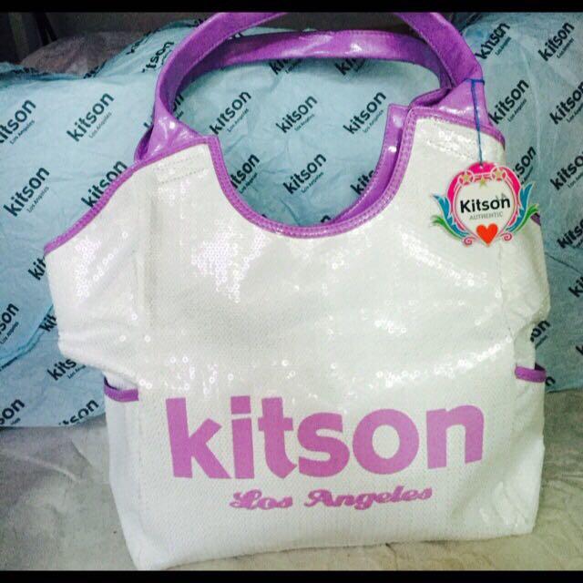 Kitson亮片肩背包