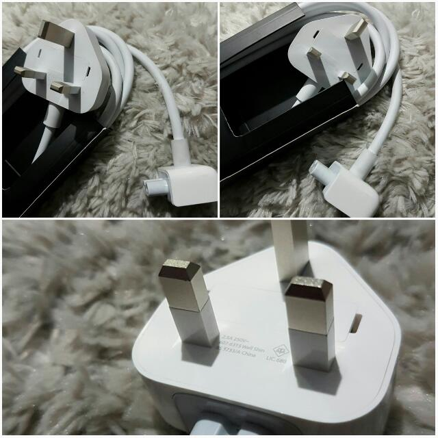 Macbook extension cord + adapter