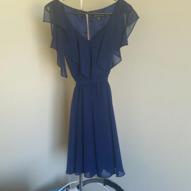Navy Blue Forever New Dress
