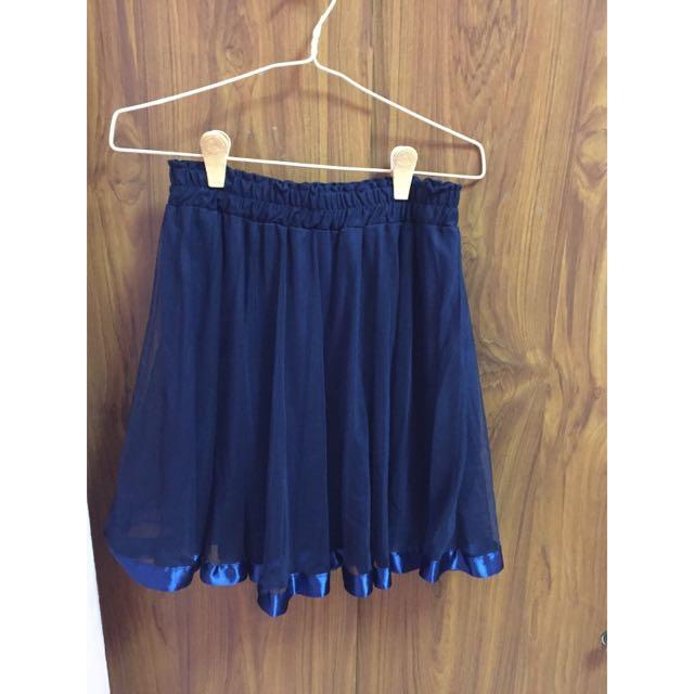 1cdc42a1de Navy Blue Tutu Skirt, Women's Fashion on Carousell
