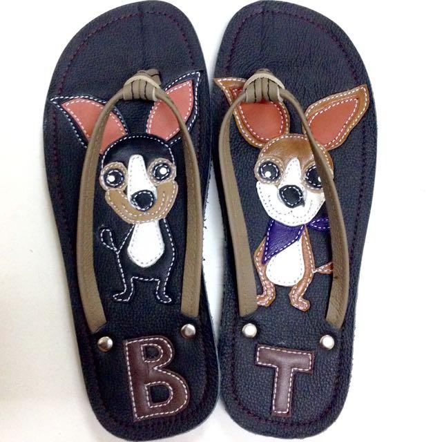 Ninakimi Handmade Leather Flip Flop