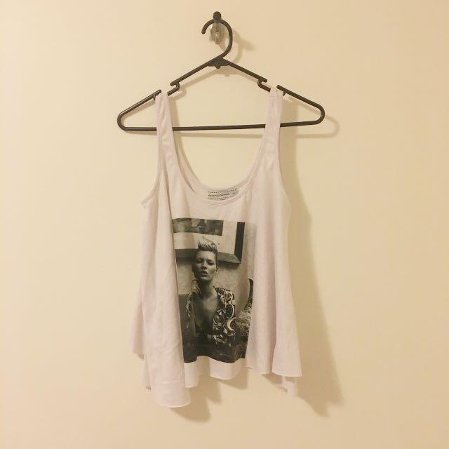 Oversized Kate Moss Tank Top