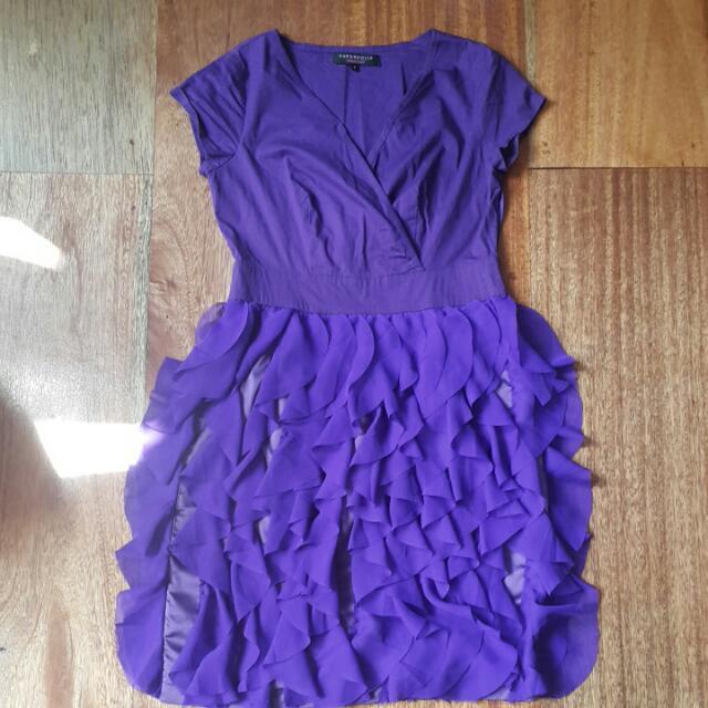 Paperdolls Flirty Dress (Purple)