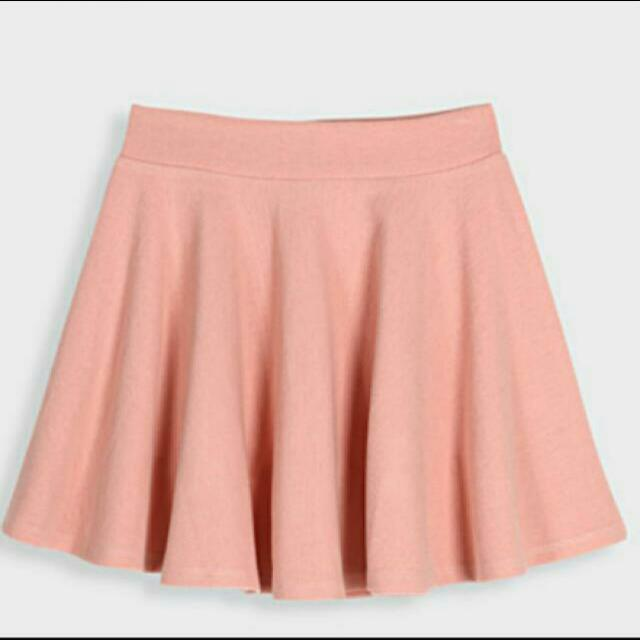 PAZZO粉紅短裙