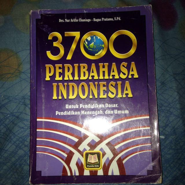 3700 Peribahasa Indonesia