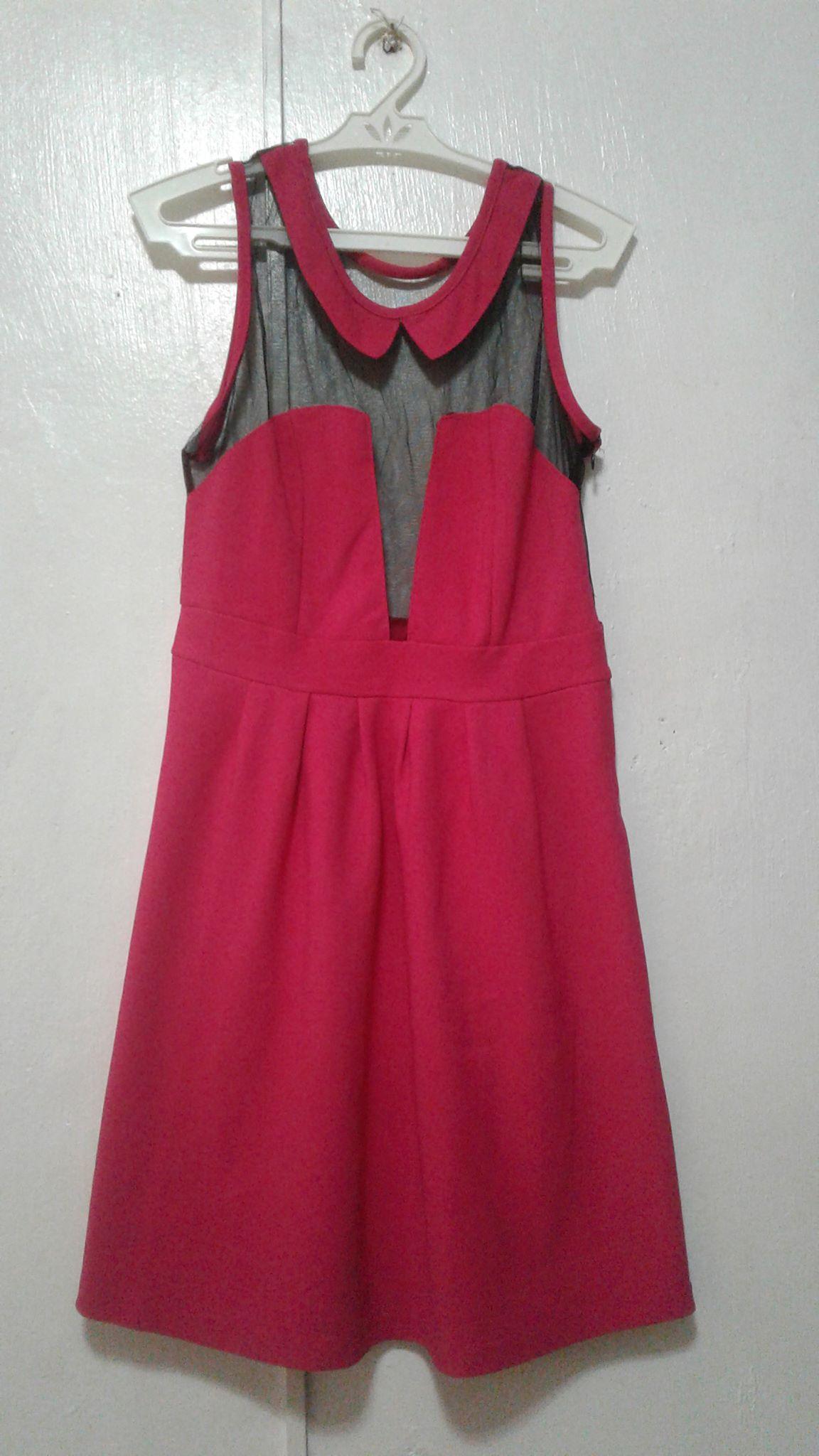 Pink porn dress