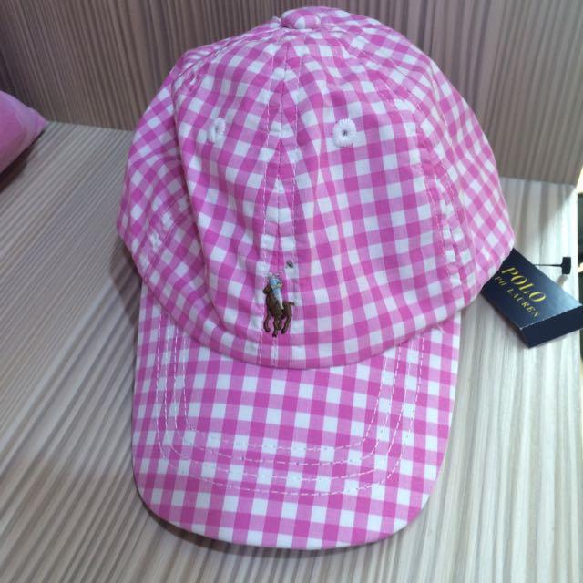 正品Ralph Lauren女孩帽