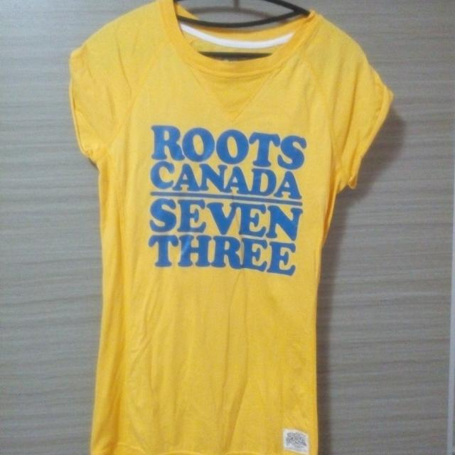 Roots女款T-shirt長版上衣