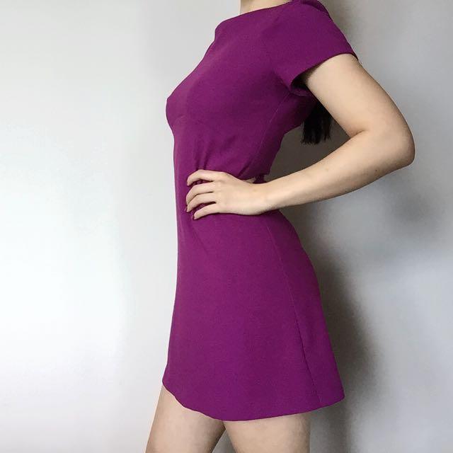 Topshop Violet Shift Dress (size 8)