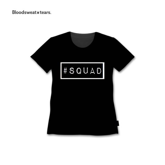 Tshirt Hashtag Squad