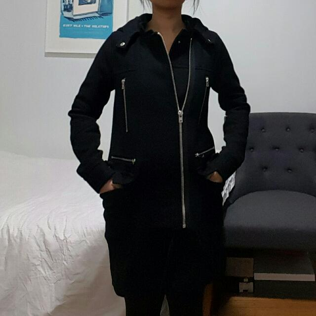 *SALE!* Witchery Wool Hooded Jacket Size 4
