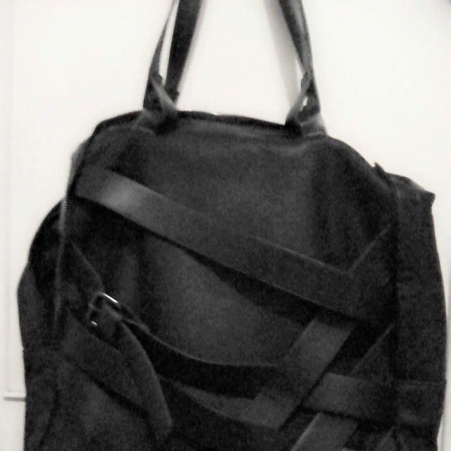 ZARA Black Bag Tag For Men