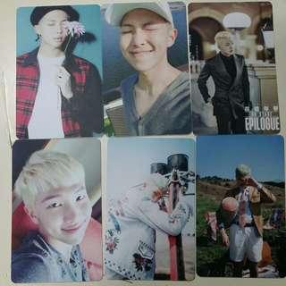 Unofficial Namjoon/Rapmon Photocard Inspired Style