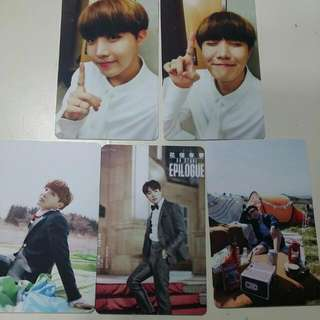Unofficial Hoseok/J-hope Photocards Inspired