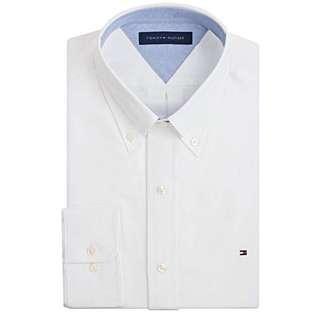 TOMMY HILFIGER Slim Fit Oxford Dress Shirt