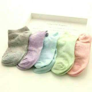 Candy Colour Ankle Socks