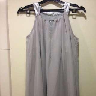 Ash Gray Tent Dress
