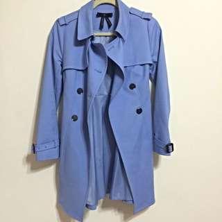 (預定)【專櫃購入 bread n butter】藍紫色風衣外套 - 全新正品