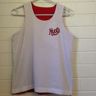 Awesome Reversible Hyats Sports Singlet