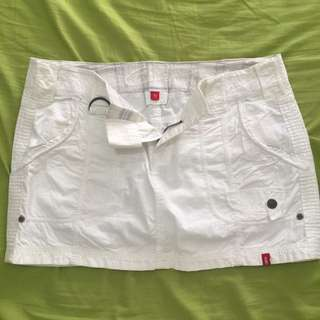 OFF WHITE MINI SKIRT (EDC BY ESPRIT)