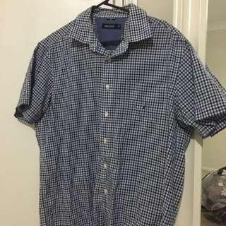 NAUTICA BUTTON UP POLO