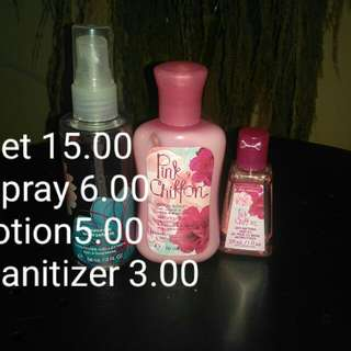 Bath And Body Works Set And Sally Beauty Lotion