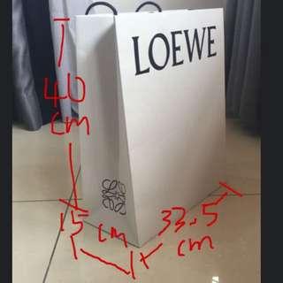 Loewe Paperbag