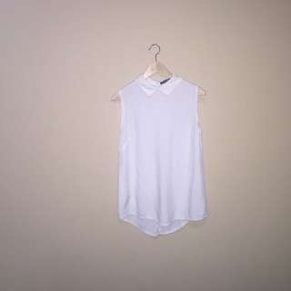 Brandy Melville Collared Tank