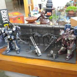 Armored Core Mirage AC-003 C05-Selena And AC-006 Crest CR-C75U2 With Extras