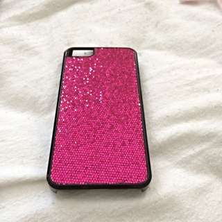 Pink Sparkle iPhone 5 Case