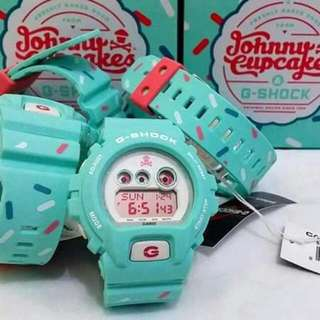 """LIMITED EDITION GSHOCK """"JOHNNY CUPCAKES"""" MODEL - GDX6900JC-3"""