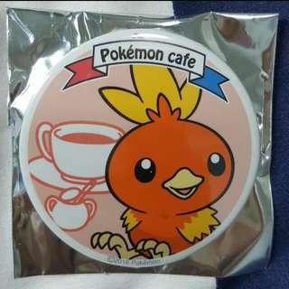 Pokemon Cafe SG Pokemon Can Badge Torchic