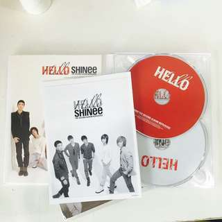 SHINee HELLO 台灣特別版專輯 CD+DVD