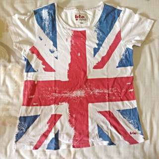 Lee Cooper England Flag T-Shirt