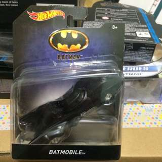 蝙蝠俠 蝙蝠車 1989電影 全新 Batman Batmobile Movie Hot Wheels
