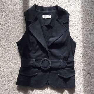 Black Portmans Vest