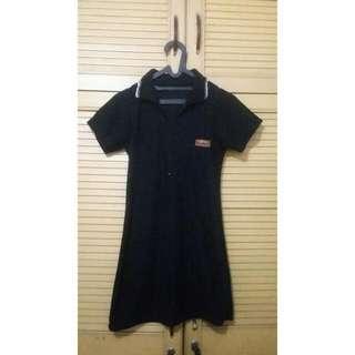 Black Collar Dress