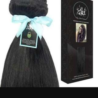 ON HOLD Zala Russian Black Hair Extensions