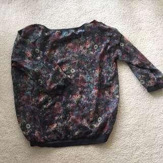Bershka Collection Sheer Pullover