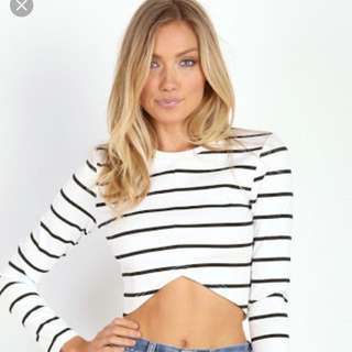 The Fifth Stripe Top