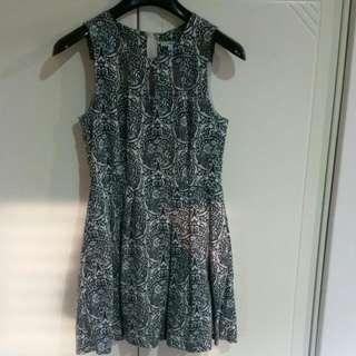 Valleygirl Floral Dress Size 10