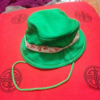 Green Doggy Hat