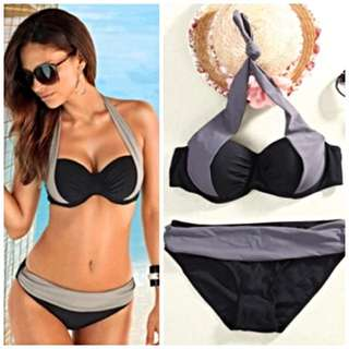 Sexy Bikini Set Monokini Lingerie Swimsuit Swimwear Gstring Bra BH Underwear