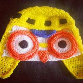 Pororo Crochet Hat