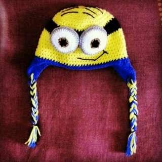 Despicable Me Minions Crochet Hat