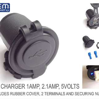 OEM Engineering USB car charger 12 VOLTS dual slot
