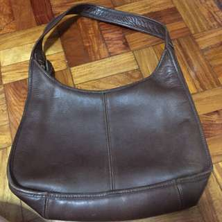 Coach:Brown Leather  Bag