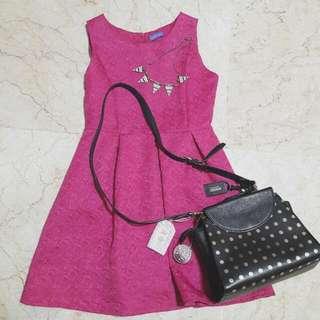 Arithalia Fuschia Dress (Size M)