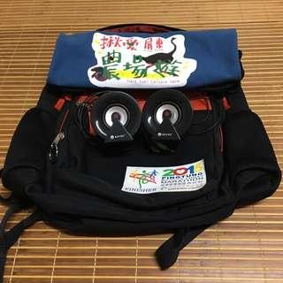 KINYO小喇叭(附贈背包及布袋)
